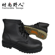 Fashion savage authentic head boots tooling in the men's boots in baotou steel tube of men's leather outdoor beef tendon at the end of 3515 a
