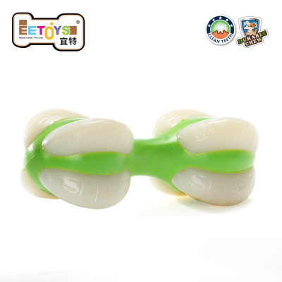 EETOYS IST pet toys molar tooth cleaning Jianchi toy dog ??bite resistant Toys / dumbbell toy