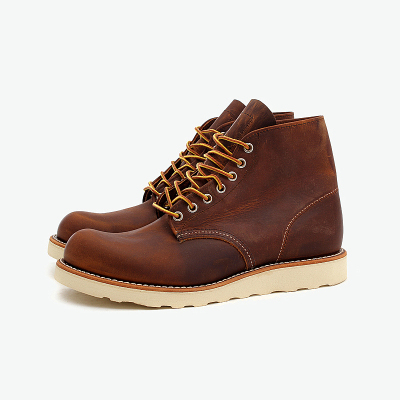 RED WING 9111 CLASSIC WORK ROUND TOE  红翼男靴中筒靴工靴装