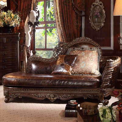 Neoclassical beauty by chaise lounge chairs chaise couch sofa bed toffee leather chairs wood chaise longue Continental