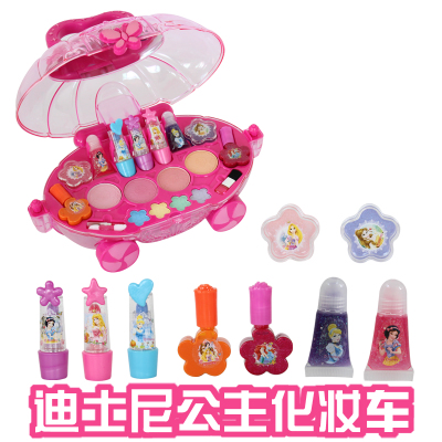 Free shipping Genuine Disney children's cosmetics gift gifts girl child princess makeup makeup show car