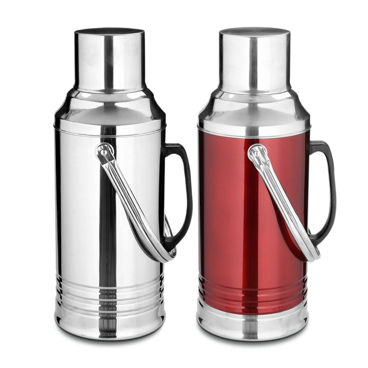 水瓶_热水瓶家用开水瓶不锈钢保温暖瓶玻璃内胆保温壶保温24小时以上