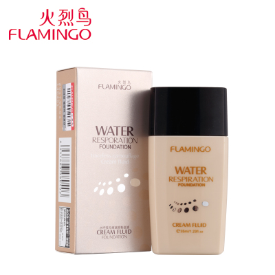 Seamless Flamingo moisturizing liquid foundation concealer palette temperature Whitening genuine counter shipping