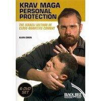 以色列近距离Krav Maga格斗术黑带教程/以色列格斗术教学 6张DVD