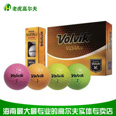 Volvik is golf four-ball ball white ball on the Asian Tour designated ball Korean imports recreational play