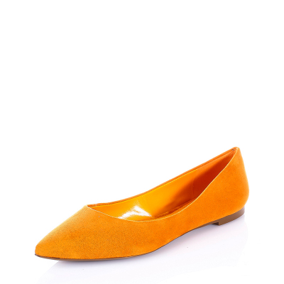 Charles & amp; Keith2014 new fall shoes suede flat shoes CK1-70330015