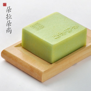 Dora flower tea tree SOAP-handmade soap acne green tea essential oil hand SOAP hand wash SOAP facial SOAP