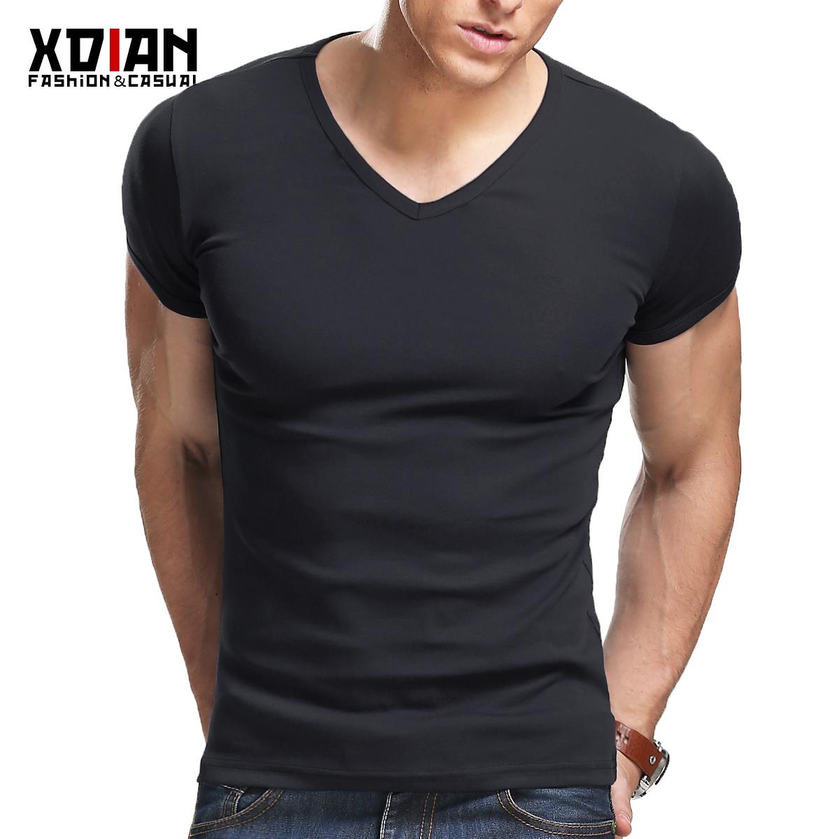 包邮 续点 男士短袖t恤 男 修身 紧身运动健身t恤男夏汗衫打底衫
