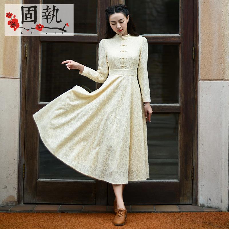 Платья в стиле ретро с кружевами 4