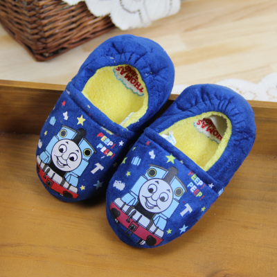 Thomas Thomas McQueen boys fall and winter children's slippers home floor shoe bag with padded baby
