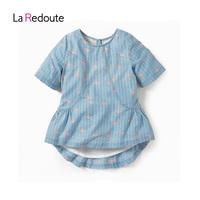 乐都特童装法国进口女童超美短袖上衣儿童高档礼物娃娃衫KP781