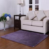 床前地毯卧室床边长方形满铺家用客厅可手洗简约现代地垫门垫定制