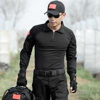 战狼2同款军服特种兵蛙服套装作训拓展军装修身迷彩服真人cs蛙服