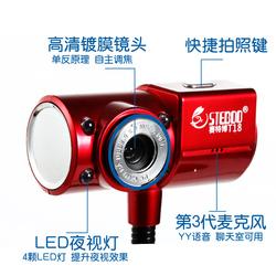 高清摄像头带麦克风加电脑耳麦免驱摄像头夜视灯免驱高清