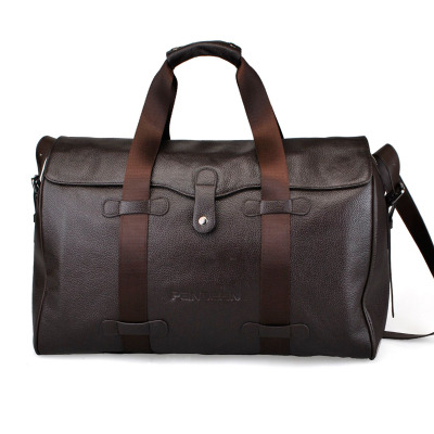 PANDEAN laptop bag for men leather men header layer of leather high-capacity short-haul business travel bag