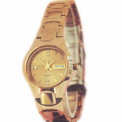 ladies wristwatch women quartz watch tingstensteel