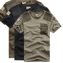 Free base elite tribe with special T-shirt lovers short sleeve T-shirt Airborne army green camouflage