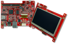 "LPC4088 DISPLAY MODULE -4.3"" CAPACITIVE TP(Embedded Artists)"