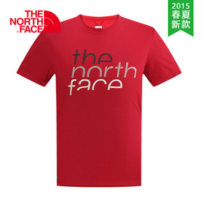 【2015春夏新款】THE NORTH FACE/北面 男款速干短袖T恤 CS92
