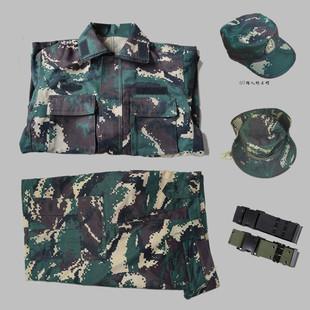 07数码迷彩猎人套装户外野战cs套装迷彩服