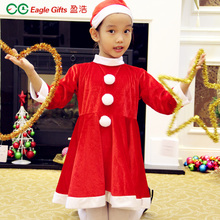 Surplus hao Christmas clothing children's clothing Santa suit children's clothes for Christmas