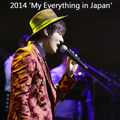 [李敏镐]2014 'My Everything in Japan' (2DVD+72页写真+礼物)