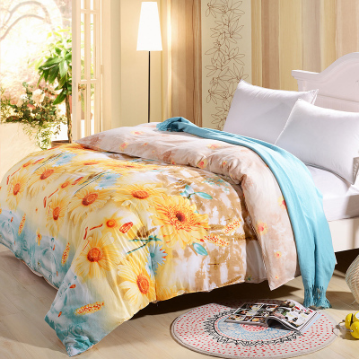 Water Dreams cotton twill printed bedding quilt quilt quilt single product Remarks single or double flowers