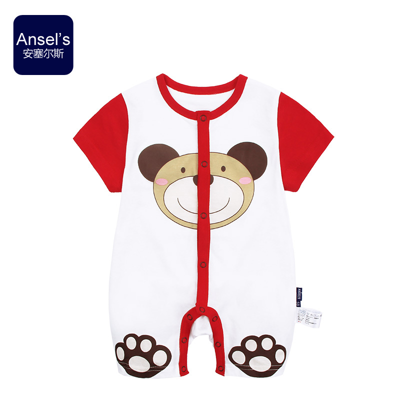 Ansel's Baby clothing Jumpsuit boy and girl Cotton Romper summer Taobao Agents