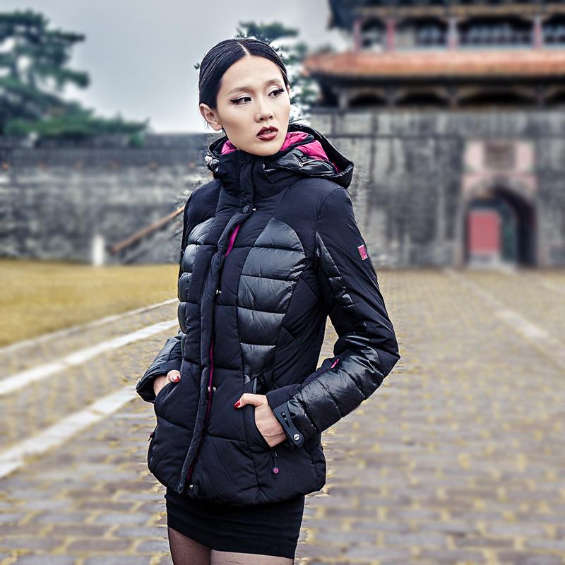 Женская утепленная куртка w266 WHS 266