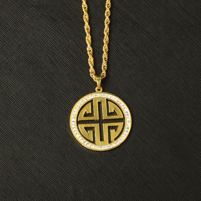 Europe and the United States new tide brand pendant necklace HOPHIP hip-hop dance Han edition men and women fashion club joker necklace