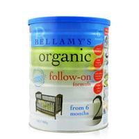 澳洲贝拉米Bellamy's-澳洲原装有机奶粉2段,适合6-12个月的宝宝