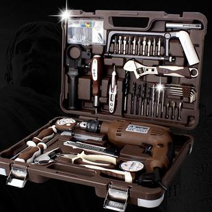 AK 多功能工具箱套装 维修电工组套 家用车载五金组合工具