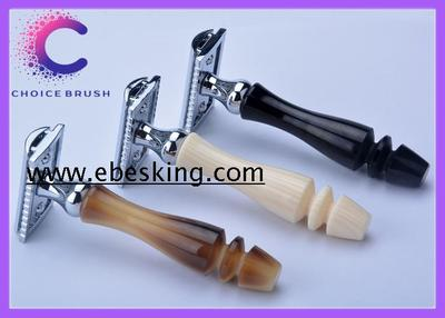 horn ivory ebony double edged razor 安全剃须刀 双面刮胡刀