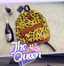 Candy, ice cream marca dragon zebra leopard ulzzang soft wave camouflage leaves women's doubles to shoulder bag