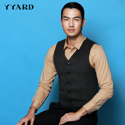 YYARD 2014 new winter wool suit vest male tight vest vest vest short paragraph coat it