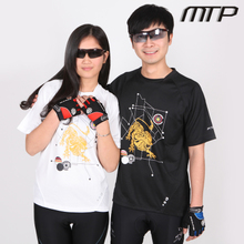 MTP summer leisure short sleeve cycling jerseys Men's and women's cycling t-shirts quick-drying breathable Outdoor cycling equipment