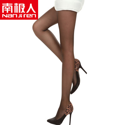 Antarctic spring and autumn leave through the meat velvet pantyhose 120D anti-hook wire bottoming socks thick stockings Ms.