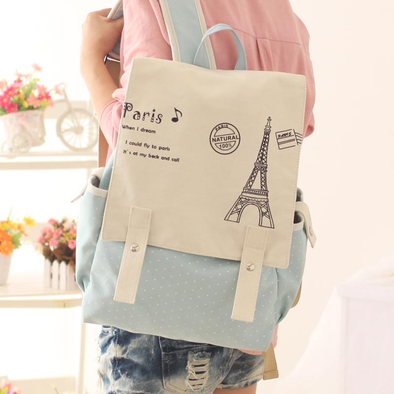 Yu Fan bags handbag shoulder bag Korea rucksack schoolbag school students tide bag computer bag College Wind - Taobao Depot, Taobao Agent