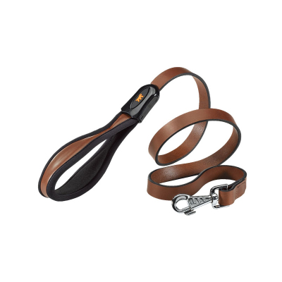 Free shipping genuine leather imported leather Fida ferplast pet quality dog ??rope traction Shengpi leash