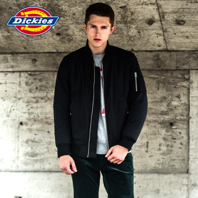 Dickies2014 autumn and personality type stitching MA1 jacket warm jacket for men waterproof 143M10WD26