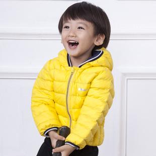 2016新款童装冬儿童羽绒服男童女童短款中小童轻薄宝宝1-2-3-4岁