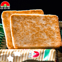 新家园烤馍锅巴馍片内蒙原产零食饼干清真食品馒头片228g家庭装