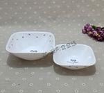 美国康宁耐热玻璃餐具紫莓花大小方形饭碗菜碗(2310/2323)