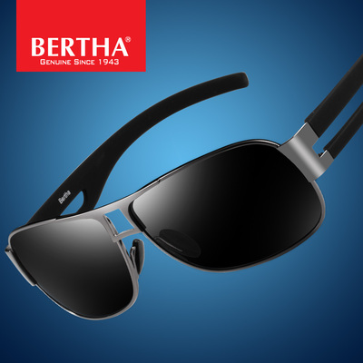 Bertha driver of the new men's polarized sunglasses influx of people driving mirror classic sunglasses fishing glasses
