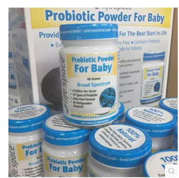 Life Space Probiotic Powder For Baby 婴儿益生菌粉调节肠便秘