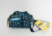 AODASI Mr Das 2015 new small blue stars polyester canvas bag, both men and women