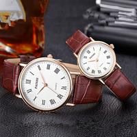 正品情侣一对价手表男女士防水学生手表皮带情侣韩版潮流女男手表