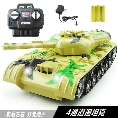 1:22 Stone remote controlled toys children toy tanks, armored vehicles, sound and light toy car charging