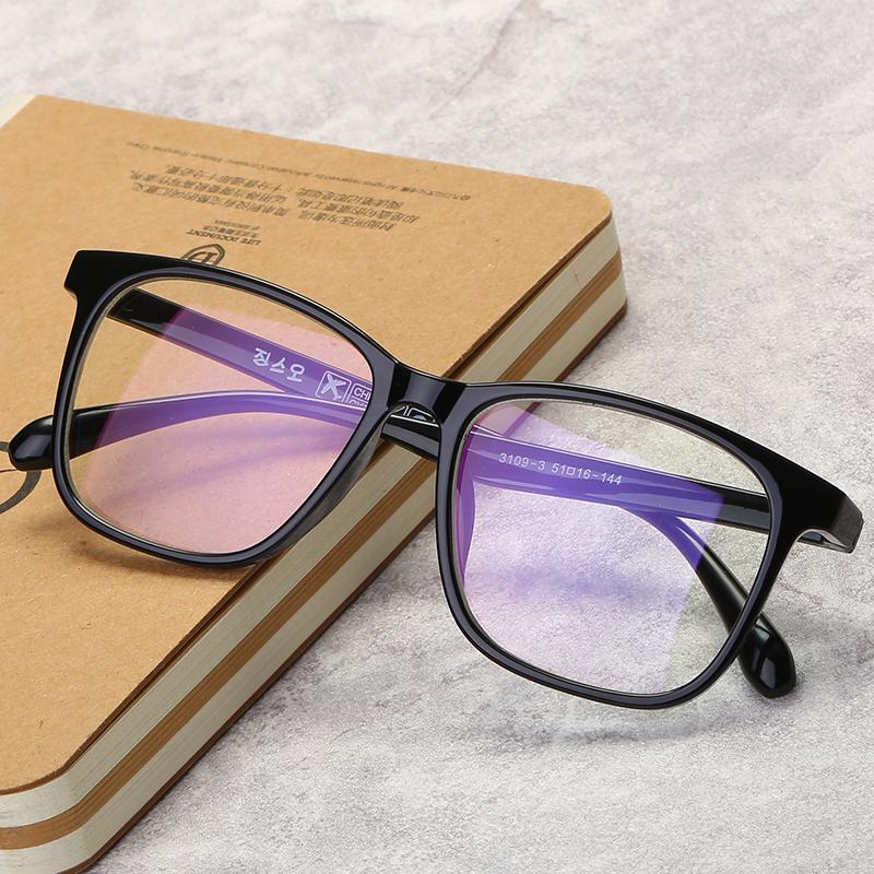 复古眼镜框架女男韩版潮大小框成品近视眼镜防辐射配眼睛文艺图片