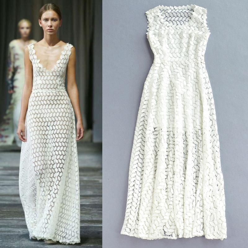к 2015 году новый стиль моды культивировать в морали в Европе и Америке в начале весны рукавов Длинные юбки с мелкими листьями high-end бум тонкие длинные платья